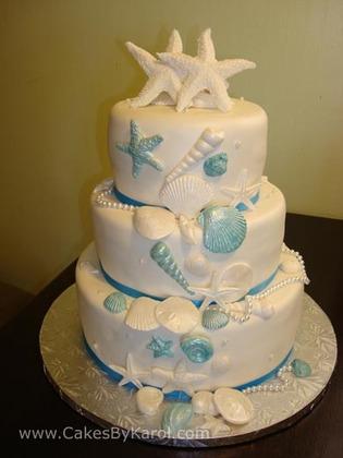Key West Bakery Wedding Cake