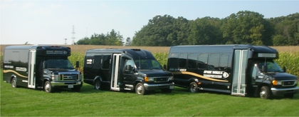 14 and 25 passenger coach buses -  - Spare Wheels Transportation Co. Inc.