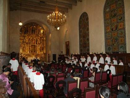 Wedding at Mission Inn, Riverside, CA - Ceremonies - All-American Boys Chorus