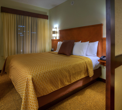 King Hyatt Grand Bed -  - Hyatt Place West Palm Beach/Downtown
