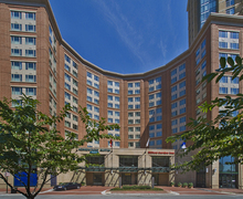 Hilton Garde Inn - Hotels/Accommodations, Wedding Day Beauty, Bridal Shower Sites - 625 S. President Street, Baltimore, Maryland, 21202, USA