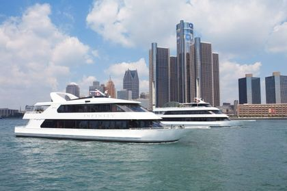 Infinity and Ovation Yacht Charters - Caterers, Reception Sites, Ceremony Sites, Ceremony & Reception - St.Clair Shores, MI, 48081, USA