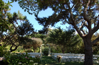 Ceremony site - Ceremonies - Hastings House Garden Weddings