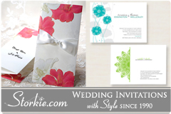 Storkie Wedding Invitations - Invitations, Favors - Fort Lauderdale, Florida, 33324, USA