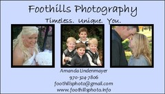 Foothills Photography - Photographer - 3610 Stagecoach Dr, Evans, CO, 80620, USA