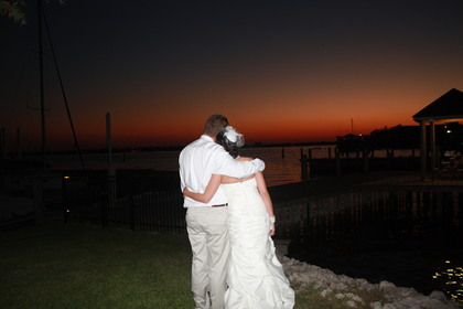 Sunset after Wedding -  - I Do Weddings and Florals