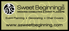 A Sweet Beginning Wedding Consulting and Decor - Coordinators/Planners, Decorations - PO Box 634, Mira Loma, California, 91752, USA