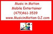 Music In Motion - DJs, Ceremony Musicians - P O BOX 10634, Fayetteville, Arkansas, 72703, USA