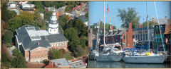 Historic Inns of Annapolis - Hotels/Accommodations, Ceremony & Reception, Rehearsal Lunch/Dinner, Reception Sites - 58 State Circle, Annapolis, MD, 21401, USA