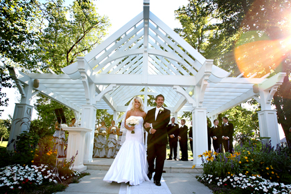 Extraordinary Garden Patio Ceremony Site -  - Bearpath Golf and Country Club