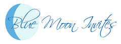 Blue Moon Invites - Invitations Vendor - Tustin, CA