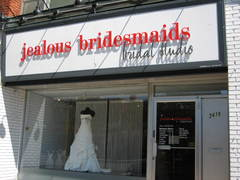 Jealous Bridesmaids Bridal Studio - Wedding Fashion - 2479 Bloor Street West, Toronto, Ontario, M6S 1P7, Canada