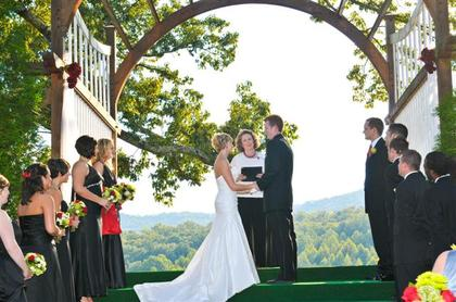 Marriage ceremony in progress.  http://WeddingWoman.net - Ceremonies - Wedding Officiant, Minister - Brenda M. Owen
