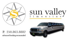 Sun Valley Limousine - Limos/Shuttles - 5071 Lipkovits Road, Kelowna, BC, V1X 7W1, Canada