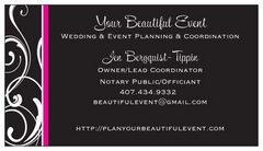 Your Beautiful Event - Coordinator - 2212 Westfall Drive, Orlando, FL, 32817, USA