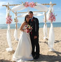 Port aransas beach weddings wedding venues vendors for Texas beach wedding packages