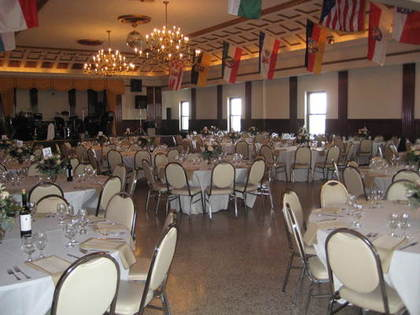 Dank Haus German American Cultural Center Wedding Venues