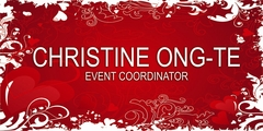christine Ong-Te events - Coordinator - 1437 San Gregorio St Paco, Manila, Manila, philippines