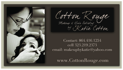 Cotton Rouge - Makeup & Hair by Katie Cotton - Wedding Day Beauty, Wedding Fashion - Greenville, SC, 29650