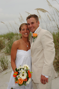 Christina and Jason's Wedding in Folly Beach, SC, USA