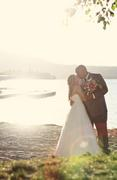 Elizabeth and Samuel's Wedding in Big Bear Lake, CA, USA