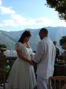 Lorraine and Brahim's Wedding in Lake, Italy