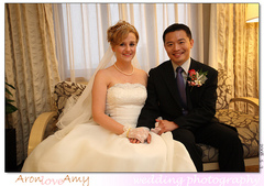 Amy and Aron 's Wedding