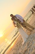 Dara and Brian 's Wedding in Honeymoon Island, FL, USA