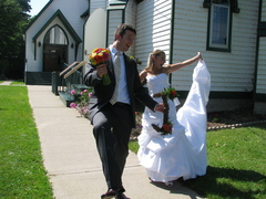 Chrissy and Jake's Wedding in Rothesay, NB, Canada