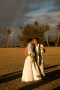 Catrin and David's Wedding in Haleiwa, HI, USA