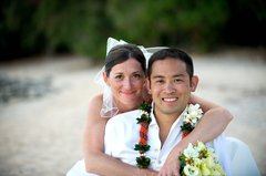 The Okubo's Wedding in North Shore, Oahu, USA