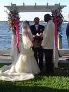 Kalani and Ewin's Wedding in Holmes Beach, Fl, USA