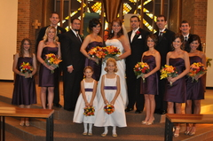 Saginaw Wedding In October in Bridgeport, MI, USA