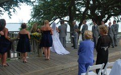 Anna and Bryan's Wedding in Kure Beach, NC, USA