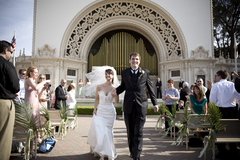 San Diego Wedding In May in Balboa Park, San Diego, CA, USA