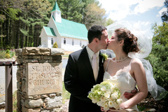 Our Wedding in Valle Crucis, NC, USA