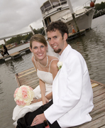 Chesapeake City Wedding In September in Charlestown, MD, USA