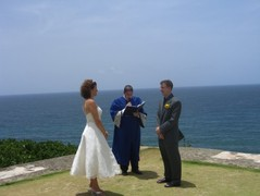 Diane and Kyle 's Wedding in Isla Verde, Puerto Rico