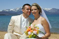 Our Wedding in Meeks Bay, CA, USA