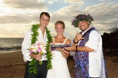 Tiffany and Chris's Wedding in Kihei, Maui, Hawaii