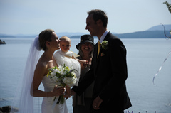 Rebecca and Sandy's Wedding in Pender Island, BC, Canada
