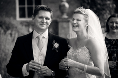 Cate and Nick's Wedding in Breamore, UK