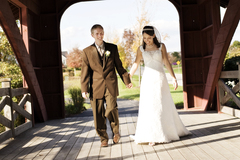 Geneva Wedding In October in Geneva, IL, USA