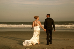 Erin  and Grant's Wedding in Folly Beach, SC, USA