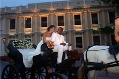 Glenda and Mitchell's Wedding in Cartagena, Bolivar, Colombia