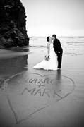 Juanita and Mark's Wedding in Ruby Beach, WA, USA