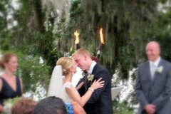 David  and Kesley 's Wedding in James Island, SC, USA