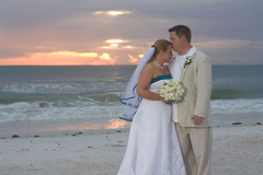 April and Jason's Wedding in Fort de Soto, FL, USA