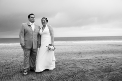 Sea Bright Wedding In October in Fair Haven, NJ, USA