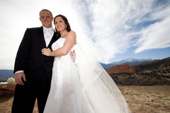 Colorado Springs Wedding In February in Colorado Springs, CO, USA